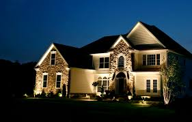 top outside lighting photo image exterior house lights home