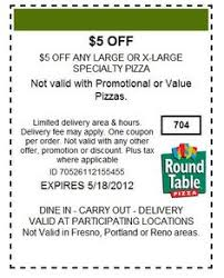 Round Table Pizza Atascadero Table Buffet Coupon 28 Images New Table Pizza April May 2016