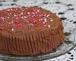 kitchen parade chocolate cinnamon whipped cream cake