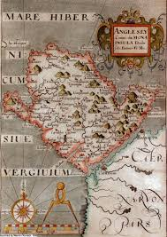 Map Of Medieval England by Anglesey Maps
