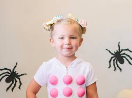 mummy costume for toddlers diy dots candy halloween costume for kids hgtv