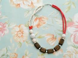 beading necklace styles images Diy chunky beaded statement necklace jpg