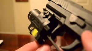 streamlight tlr 4 tac light with laser streamlight tlr 4 tactical flashlight laser review youtube