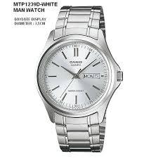 Jam Tangan Casio Mtp jam tangan casio analog mtp 1239 d series daydate display