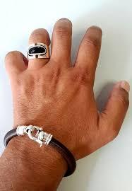 mens clasp bracelet images Birthday gift for men men 39 s jewelry bracelet mens jpg