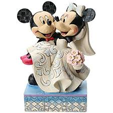 mickey and minnie wedding disney traditions mickey and minnie wedding figure co uk