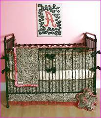 Cheetah Print Crib Bedding Set Cheetah Print Bedding For Cribs Home Design Ideas