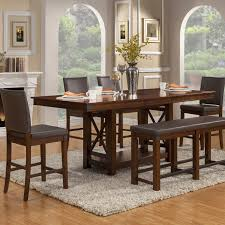 Counter Height Extendable Dining Table Wayland Counter Height Extendable Dining Table Dining Tables