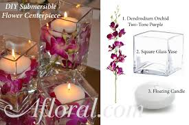 Diy Flower Arrangements Two Diy Submersible Wedding Flower Centerpieces Afloral Com