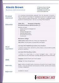 administration resume apa format paper term