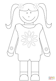 scout coloring page brownie girls scout coloring page free