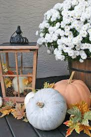 Fall Decorated Porches - fall front porch clean and scentsible