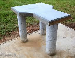 build your own concrete shooting bench daily bulletin