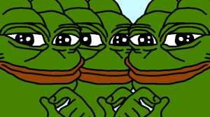 Pepe Meme - currency slowly getting replaced by pepe memes