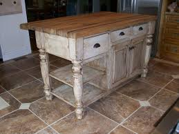 36 Kitchen Island by Distressed White Kitchen Island With Butcher Block Furniture
