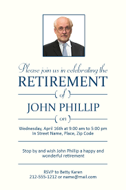 retirement announcement announce your retirement day party and the and