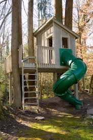tree house for kids with pipe slide doctor architecture doctor