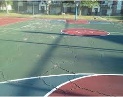 Basketball Court In Backyard Cost by Backyards Terrific Great Photos Of Dedicated Concrete Pads As