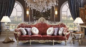 canapé royal luxe bois massif canapé en cuir royal salon canapé en cuir