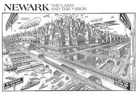 Map Of Newark Nj Newark Metamorphosis U2013 Newark Changing 1916 U2013 2016