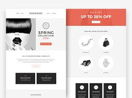free fashion accessories newsletter template free psd at freepsd cc