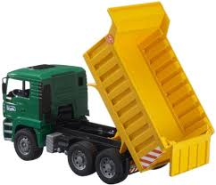 minecraft dump truck bruder man tga tip up dump truck 1 16 scale 02765 bruder