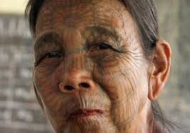 face tattooed old people in 2017 real photo pictures images and