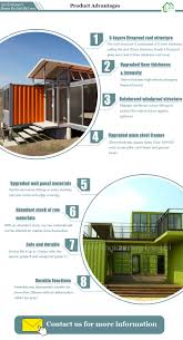 new living area low cost industry style shipping container homes