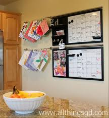 kitchen bulletin board ideas kate u0027s art on display all things g u0026d