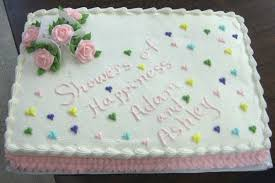 wedding sheet cake wedding shower sheet cake cakecentral