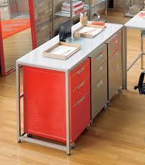 Orange Filing Cabinet Trig File Cabinet The Awesomer