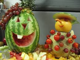 thanksgiving fruit statues science buzz