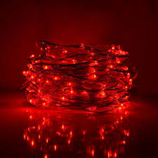 micro led christmas lights 33 foot led fairy lights 100 red micro led lights on copper wire