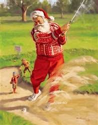 does santa claus play golf a christmas poem golf for beginners