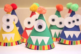 monster party hats repeat crafter me