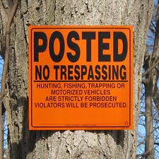 hunting signs ebay