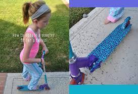 Halloween Duct Tape Crafts How To Update A Scooter Fit For A Tween Club Chica Circle