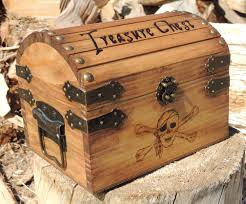Woodwork Wooden Box Plans Small - pyrography treasure chest small wood burned with by thecarpentersd