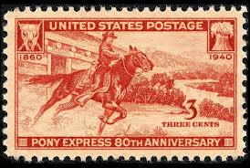 Pony Express Route Map by The Brief Enduring Life Of The Pony Express Mental Floss