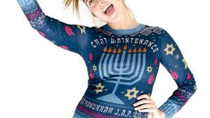 channukah sweater nordstrom s hanukkah sweater causes outrage