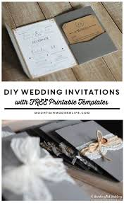 Wedding Invitation Cards Download Free Best 25 Free Wedding Invitation Templates Ideas On Pinterest