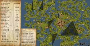 World Treasure Map by Evil J Adventure Guides