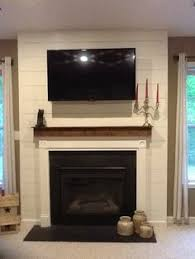 Fireplace Stuff - steel panels i don u0027t know if we want to put the tv so high which