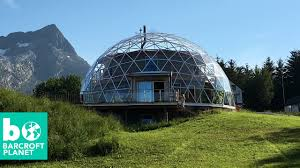 eco house glass dome eco house in the arctic circle youtube