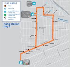 Metrolink Map Los Angeles by Noho To Airport Burbank Bus