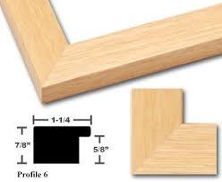 light wood picture frames redimat wood picture frames profile 6 wood frame natural blande
