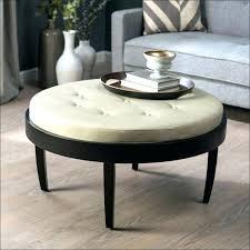Ottoman Tables Leather Ottoman Coffee Table Leather Ottoman Coffee Table