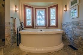 stone wainscot bathroom u2014 the clayton design decorate with