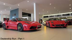 aston martin showroom dealership run 2 part 1 ferrari maserati and aston martin