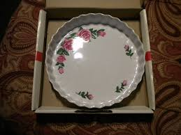 christineholm porcelain christineholm porcelain quiche baking dish made in